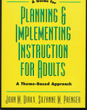 A Guide to Planning   Implementing Instruction for Adults