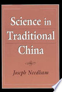 Science in Traditional China