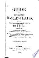 Guide de la conversation français-italien
