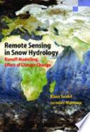 Remote Sensing in Snow Hydrology