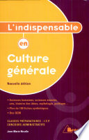 L indispensable en culture g  n  rale