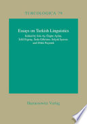 Essays on Turkish Linguistics