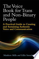 The Voice Book for Trans and Non Binary People