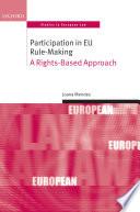Participation in EU Rule making