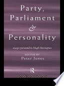 Party  Parliament and Personality