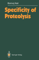 download ebook specificity of proteolysis pdf epub