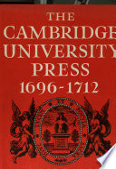The Cambridge University Press book
