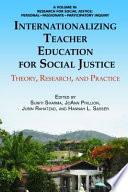 Internationalizing Teacher Education for Social Justice