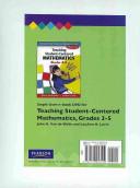 Teaching Student Centered Mathematics   Grades 3 5