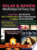 Relax   Renew  Mindfulness For Every Day    4 In 1 Box Set