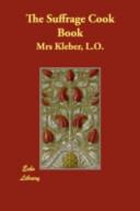 The Suffrage Cook Book Book PDF