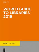 World Guide To Libraries 2019