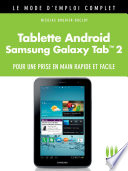 Tablette Andro  d Galaxy Tab 2 Mode d Emploi Complet