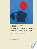 A Historical Introduction to the Philosophy of Mind   Second Edition