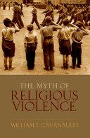 download ebook the myth of religious violence pdf epub