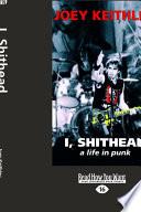 Ebook I, Shithead Epub Joey Keithley Apps Read Mobile