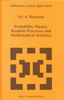 Probability Theory Random Processes And Mathematical Statistics