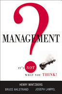 Management  It s Not what You Think