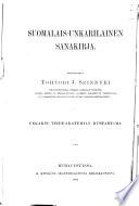 Finn-magyar szótár
