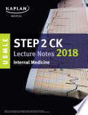 USMLE Step 2 CK Lecture Notes 2018  Internal Medicine