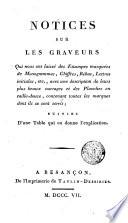 Notices Sur Les Graveurs
