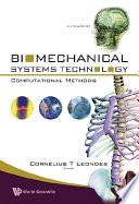 Biomechanical Systems Technology   Computational Methods