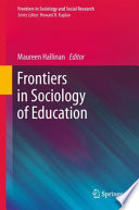 Frontiers in Sociology of Education