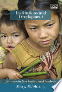 Institutions And Development book