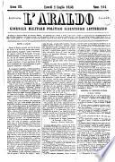 L    araldo della guardia nazionale e dell esercito giornale militare  politico  scientifico  letterario