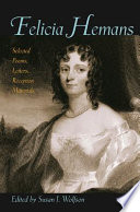 Felicia Hemans Hemans 1793 1835 This Volume Marks A Revival Of