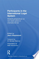 Participants in the International Legal System