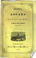 Estadística de la advana de Buenos Aires