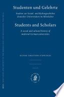 Studenten und Gelehrte