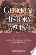 German History  1789 1871