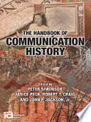 The Handbook of Communication History