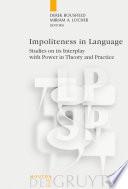 Impoliteness in Language