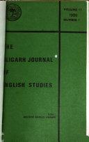 The Aligarh Journal of English Studies