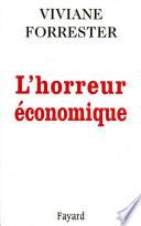 L'Horreur économique