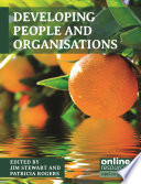 Developing People and Organisations