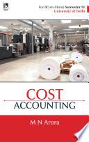 Cost Accounting  For B  Com  Sem 4  Delhi University