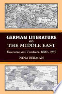 German Literature on the Middle East