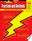 Power Practice  Fractions and Decimals  Gr  5 6  eBook