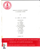 Reservoir engineering assessment of geothermal systems