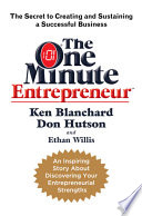 The One Minute Entrepreneur Book PDF