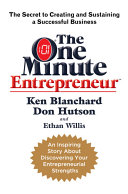 The One Minute Entrepreneur Book