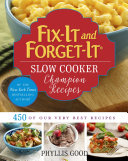 Fix-It and Forget-It Slow Cooker Champion Recipes Book
