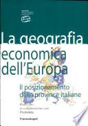 La geografia economica dell Europa