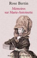 M Moires Sur Marie Antoinette