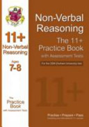 11+ Non-verbal Reasoning Practice Book with Assessment Tests (Age 7-8) for the CEM Test
