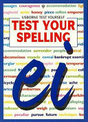 Test Your Spelling
